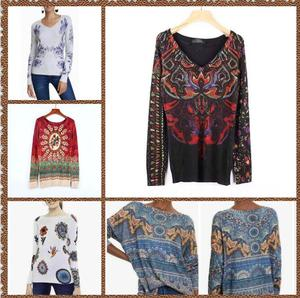 Spanish DEG Knitted Sweaters in Spring And Autumn in