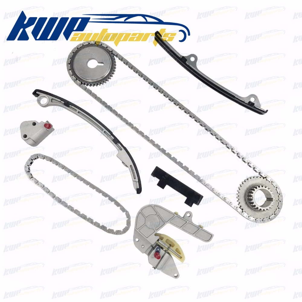 Complete Timing Chain Kit for 02-06 Nissan Altima Sentra 2.5L DOHC QR25DE bosch psr 14 4 2