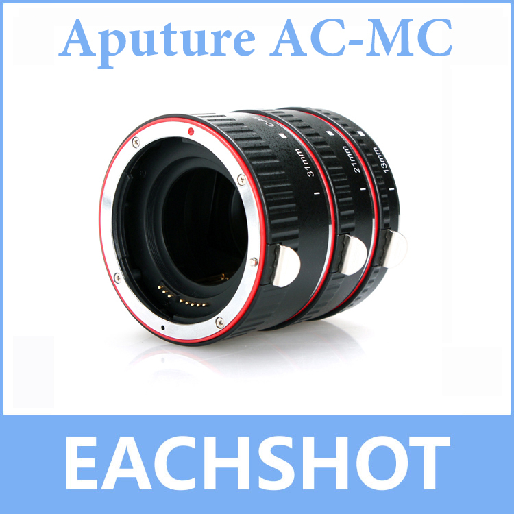 Aputure Lens Macro Tube Set AC-MC for Canon Compatible with all EF and EF-S lenses недорго, оригинальная цена