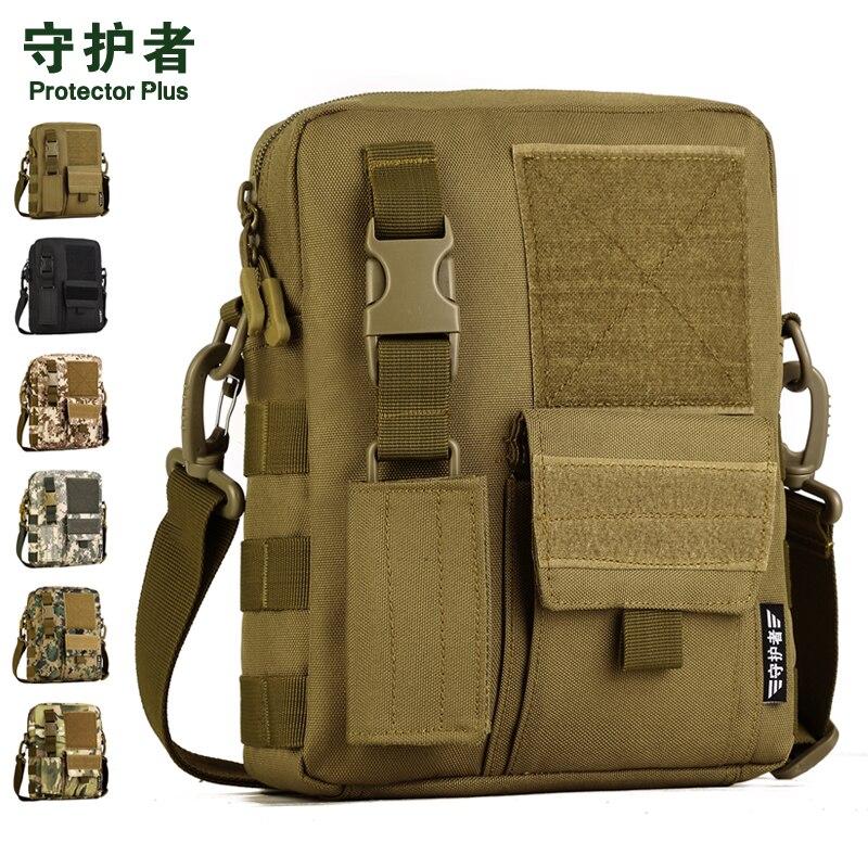 Tactical Shoulder Bag Protector Plus K316 Sports Bag Camouflage Nylon Military Outdoor Hiking Bag Ipad Bag