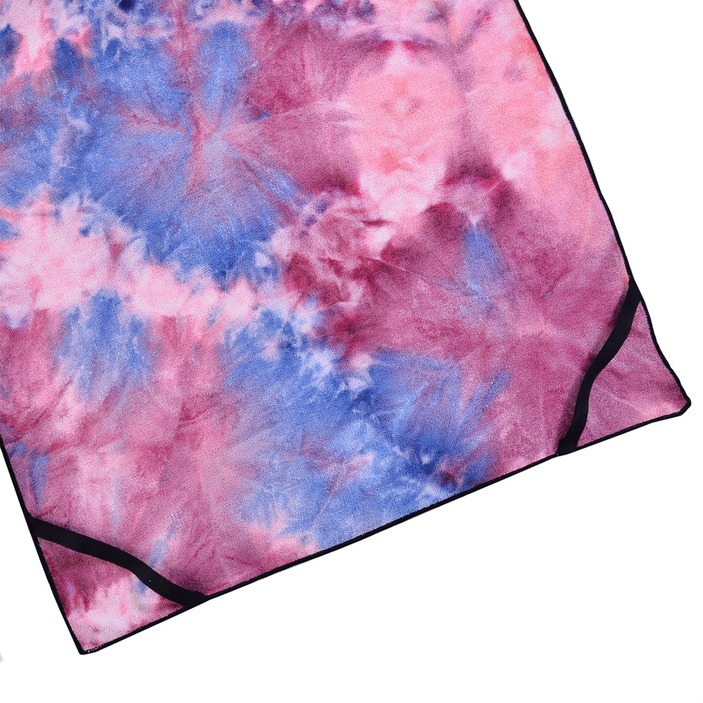 Image 5 - Portable Lounge Chair Cover Patio Pocket Outdoor Foldable Tie Dyeing Pool Bath Sun Beach Towels Bag Microfiber-in Sun Loungers from Furniture