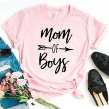 A mãe dos meninos arrow Mulheres camiseta de Algodão Casual camisa Engraçada de t Para Senhora Menina Top Tee Hipster NA-237 do Navio Da Gota