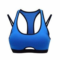 Syprem women sportswear yoga sports bra brassiere fitness running gym vest seamless sexy underwear blue green.jpg 250x250