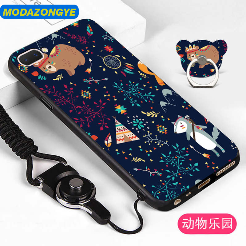 OPPO A5 Case OPPO A3S Case Cartoon Painted Soft Tpu Phone Case Back Cover Oppo A5 A3S Cover OPPOA5 OPPOA3S Case Silicone Capa