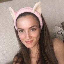 цена на 1PC Multicolor Cute Elastic Cat Ears Headbands Girl Hair Accessories Girl Headband Cute Hair Band Headband Hair Accessories