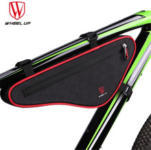 Wheel Up Reflective Large Capacity Nylon MTB Cycling Front Bag Waterproof Outdoor Triangle Bicycle Tube Frame