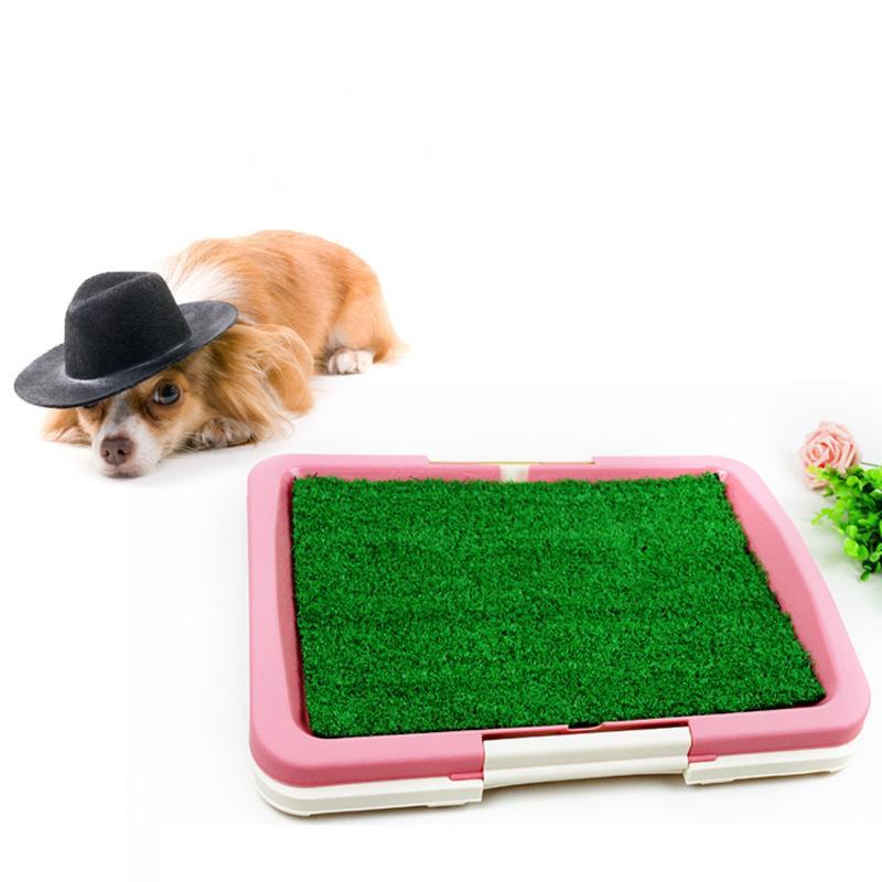 dogs bathroom grass. 2017 new pet dog toilet grass mat urinary tray pad three layers flat dogs bathroom