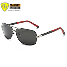 New Arrival Sale Brand fashion polarized sunglasses men Classic Retro Driving Sun Glasses UV400 Anti-Reflective with blue film
