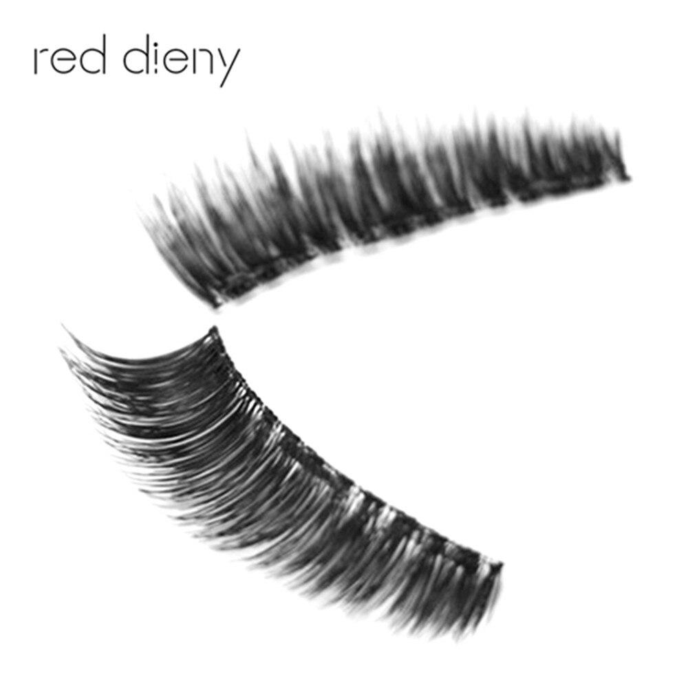 Good Quality 3D False Eyelash Thick Long Eyelashes Makeup Black Nautral Eye Lashes Extension Beauty Tools Dropshipping