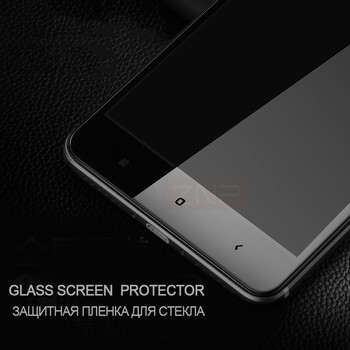 ZNP Full Screen Protective Tempered Glass For Xiaomi Redmi Note 4X Redmi 4X 9H Protector Film For Redmi Note 4X glass Full cover 1