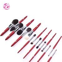 ENERGY Brand Professional Sets & Kits 15Pieces Brush Nylon Hair Wood Handle Makeup Brush wg