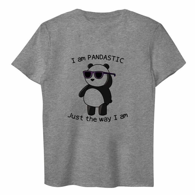 Pikachu Panda gato de manga corta Camiseta blanca camiseta Modal hombres mujeres moda camisetas