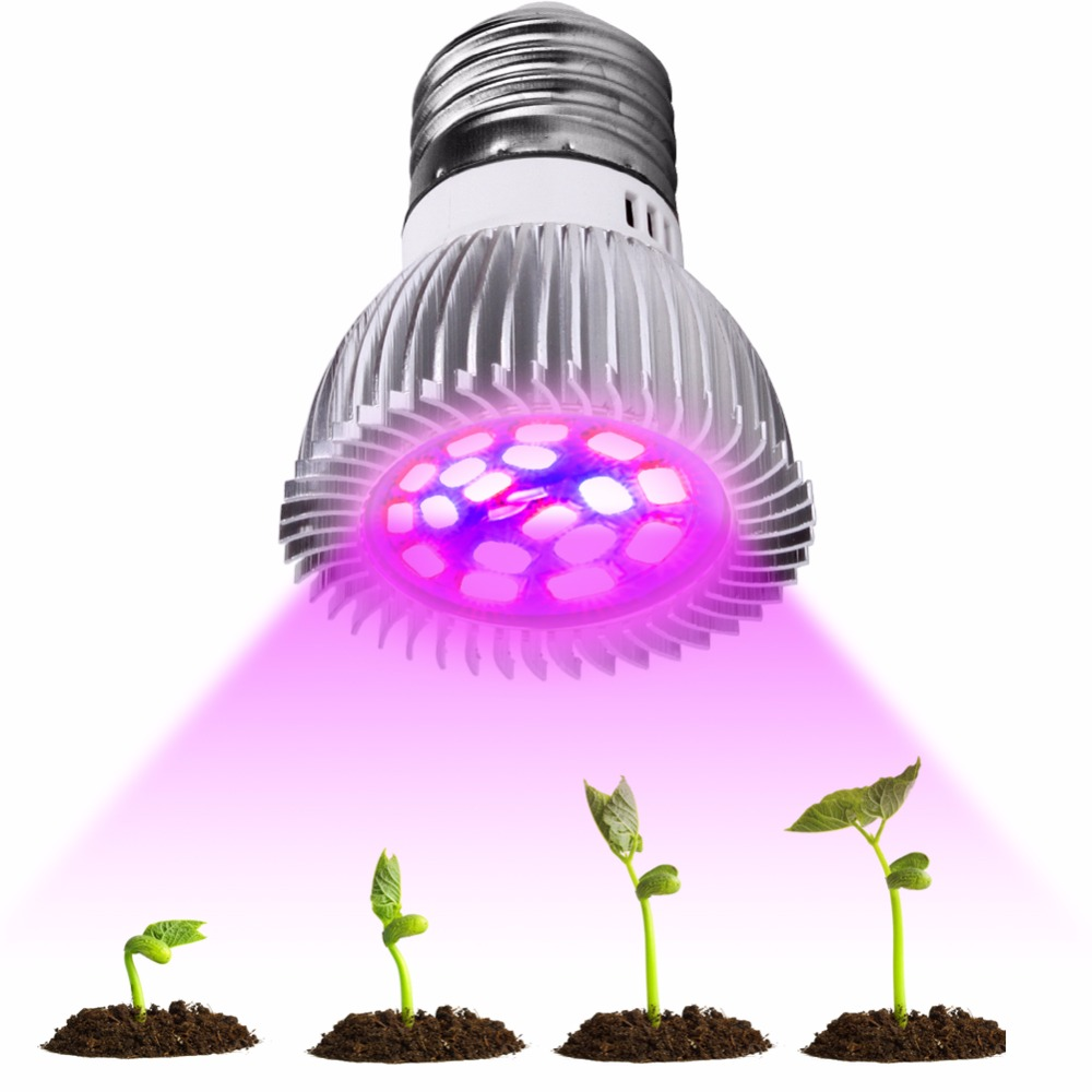 Einfach Volle Spektrum Cfl Led Wachsen Licht Lampada E27 E14 Mr16 Gu10 Indoor Anlage Lampe Blüte Hydrokultur System Ir Uv Garten 110 V 220 V