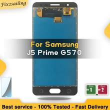 For Samsung Galaxy J5 Prime AMOLED LCD Display Touch Screen J5P G570 G570F G570K G570L assembly replacement digitizer