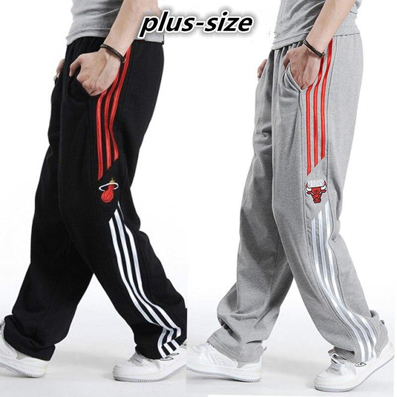 men Harem tactica Pants brand Sagging Military sweat Trousers sporting Pant Big Size Plus Elastic Waist Elderly Baggy Jogger