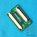 50 Pin to 40 Pin ZIF 0.5mm Connector Adapter Board For TTL LCD EJ070 EJ080NA 2set/lot