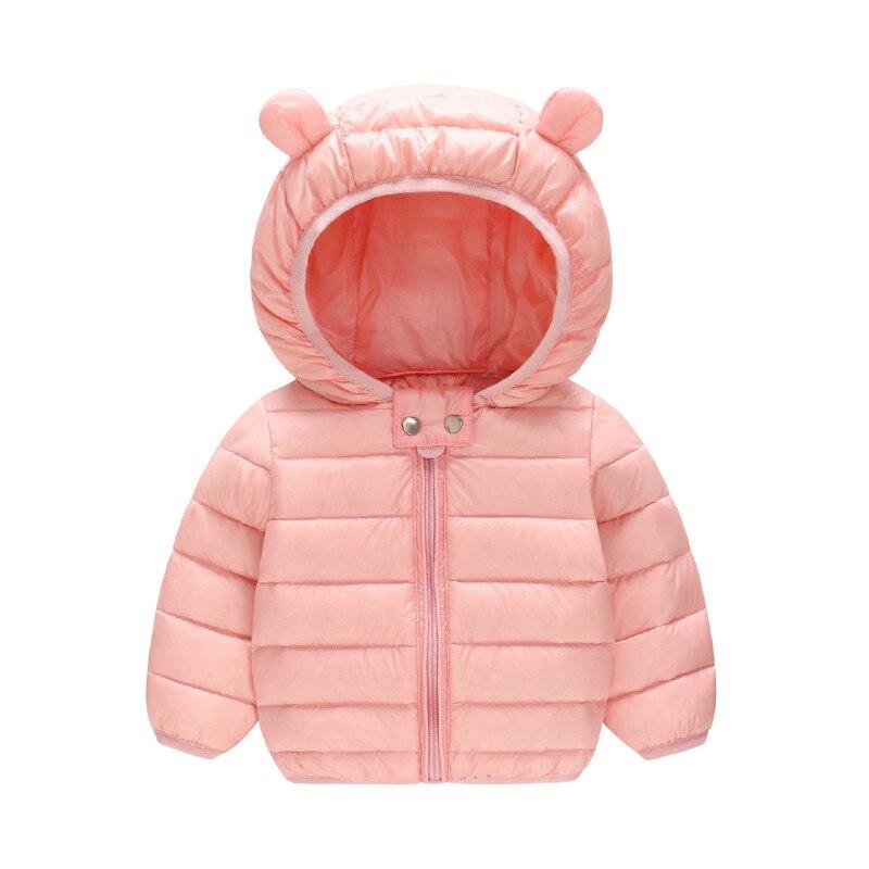 Ausdrucksvoll Die Beste Qualität Baby Kleidung Schnee Tragen Winter Weiße Ente Unten Jacke Warme Mit Kapuze Lange Hülse Kleinkind Baby Jacke Oberbekleidung