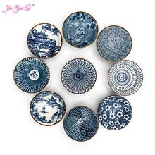 Jia-gui luo шт. 1 шт. китайский синий и белый фарфор персональный кунг-фу чашка кухонные принадлежности