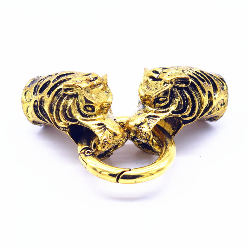 New. Snakes head Bracelet Glue In Clasp. Gold Colour. Jewellery Findings ...