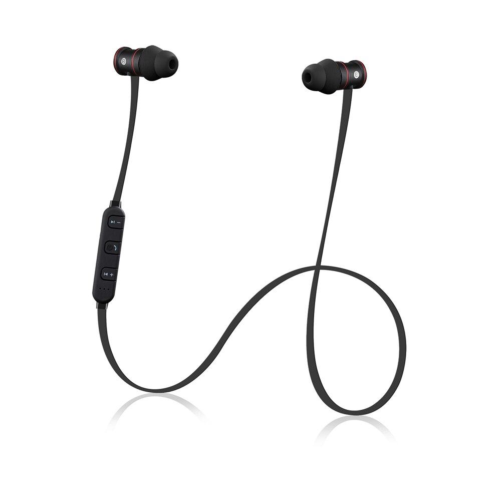 ipudis sport bluetooth earphone matal headset wireless earbuds magnet headphones with mic in. Black Bedroom Furniture Sets. Home Design Ideas