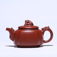 Yixing Zisha Teappot Raw Ore Dahongpao antique teapot Black tea gift Purple Clay Tea pot Tea maker Chinese Kungfu Tea set