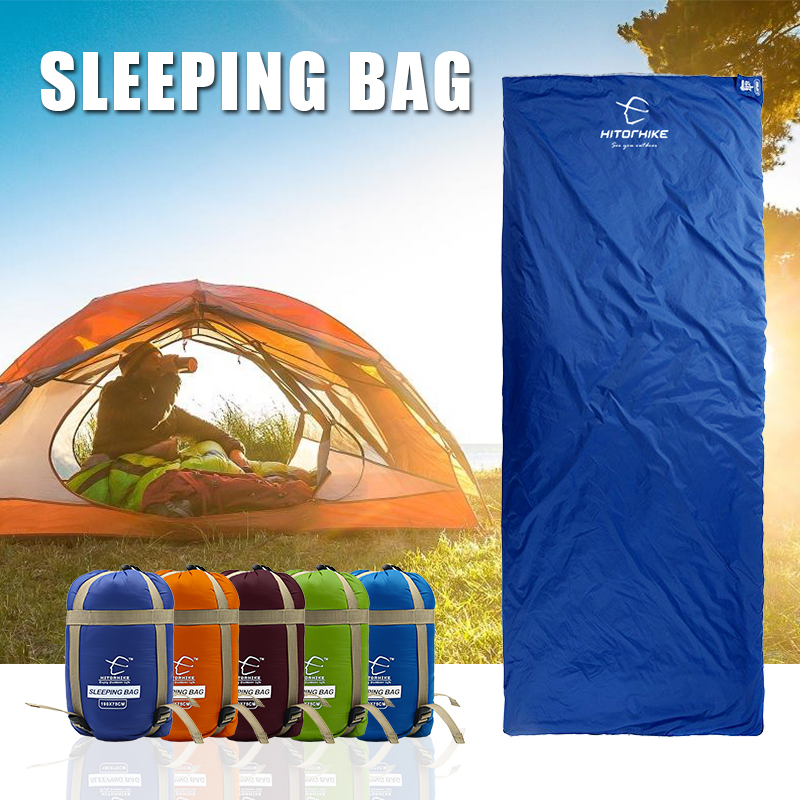 0bd2d8f9b642 Detail Feedback Questions about Outdoor Envelope Sleeping Bag Mini  Ultralight Multifunction Travel Bag Hiking Camping Sleeping Bags Nylon 190    75cm lazy ...