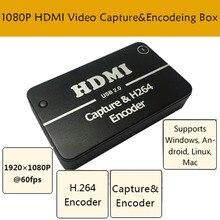 Jogo HD Captura De Vídeo de 1080 p HDMI YPBPR Recorder Para XBOX One/360 PS3/PS4