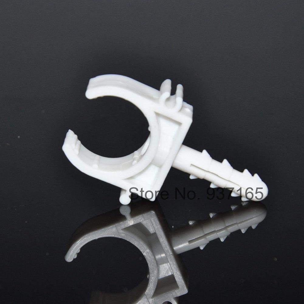 Pvc plastic u clamp with plug bolt setscrew for ppr pipe