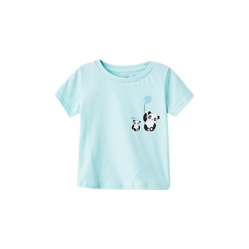 T-Shirts MODIS M182K00465 for baby girls kids clothes children clothes TmallFS moose кукла bizzy bubs малыш полли лепесток