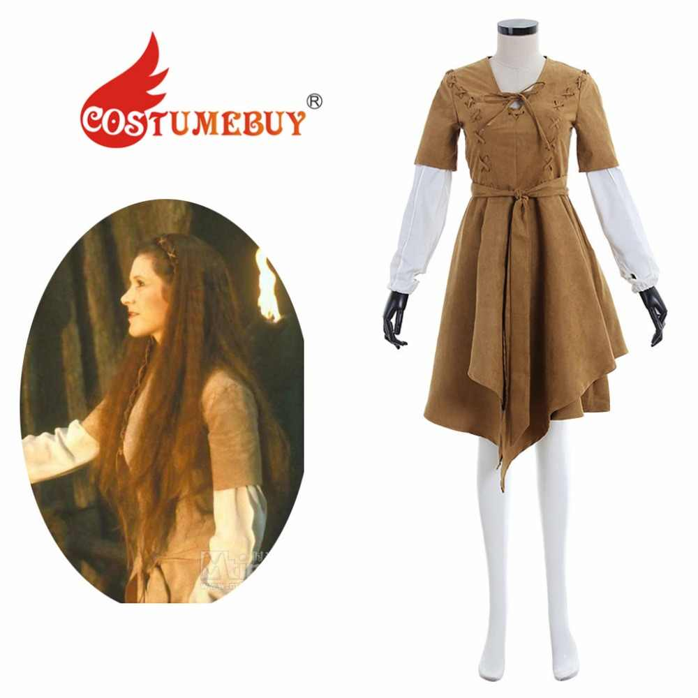 Costumebuy Star Wars Princess Leia S Endor Dress Star Wars
