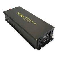 3000W Solar Power Inverter 12V 230V Pure Sine Wave Inverter 12V/24V/36V DC to 120V/220V/240V AC Voltage Converter Remote Control