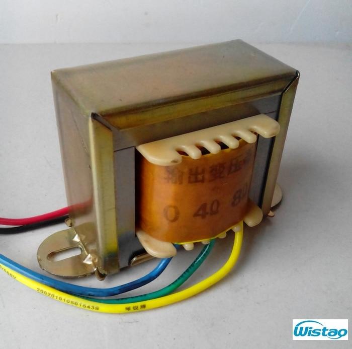 IWISTAO csőerősítő kimeneti transzformátor 5W Z11 Egy végű szilícium acél EI transzformátorok Power Audio HIFI DIY Ingyenes szállítás