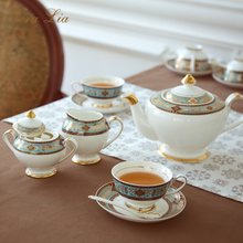 The Barpque Series Bone China Afternoon Tea Set Retro Luxurious British Household Coffee Cup Set Black Tea Cup And Saucer Gift