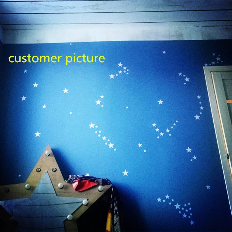 ملصقات باشكال النجوم 150 قطعة باحجام مختلفة 4