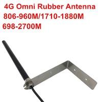 אנטנה sma OSHINVOY אומני גומי 4G אנטנה חיצונית 698-2700M GSM SMA אנטנה זכר עם Lbrackets 806-960M, 1710-1880M אנטנה גומי Omni (1)