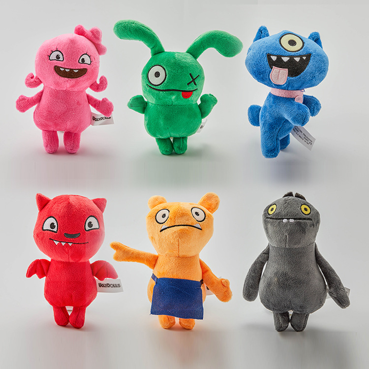 6pcs/lot Uglydoll Plush Toy Institute Of Perfection Uglydog Soft Stuffed Plush Dolls Ugly Gifts For Children Kids
