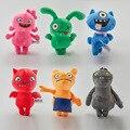 6 шт./лот Uglydoll, плюшевая игрушка, Институт совершенства Uglydog, мягкие плюшевые куклы, уродливые подарки для детей