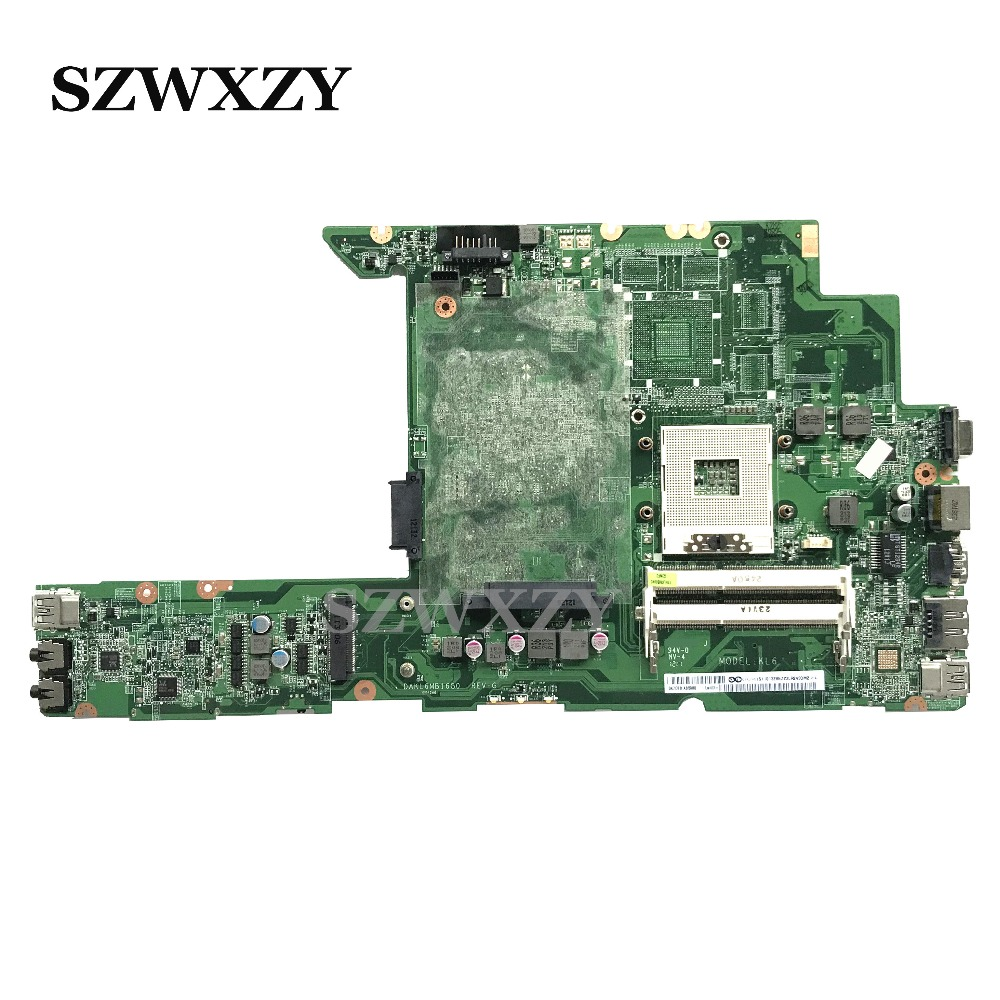 DAKL6MB16G0 For Lenovo Z470 Laptop Motherboard MainBoard 11013285 11S11013285 HM65 DDR3 Not Repaired