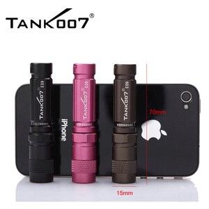 Image 1 - E09 led Flashlight * XP E R3 3Mode Waterproof ipx8 Dustproof White LED Mini Torch(By 1x10440 / AAA Battery) Iron box lantern