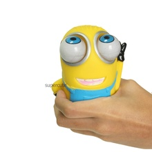 Смешно анти-Стресс гадкий я Caomaru vent игрушки Миньоны Новинка Продукты fun Антистресс мяч прессуя Поднял большой глаз куклы