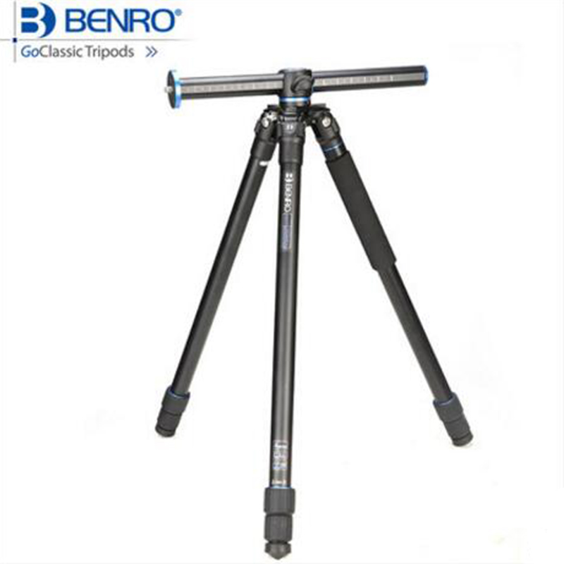 Benro GA257T Aluminum Tripod Professional Digital/Video Camera Tripod Portable Monopod Stable Photography Support For Canon SLR