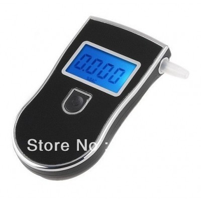 Portable Police Digital Breath Alcohol Tester Breathalyzer Freeshipping