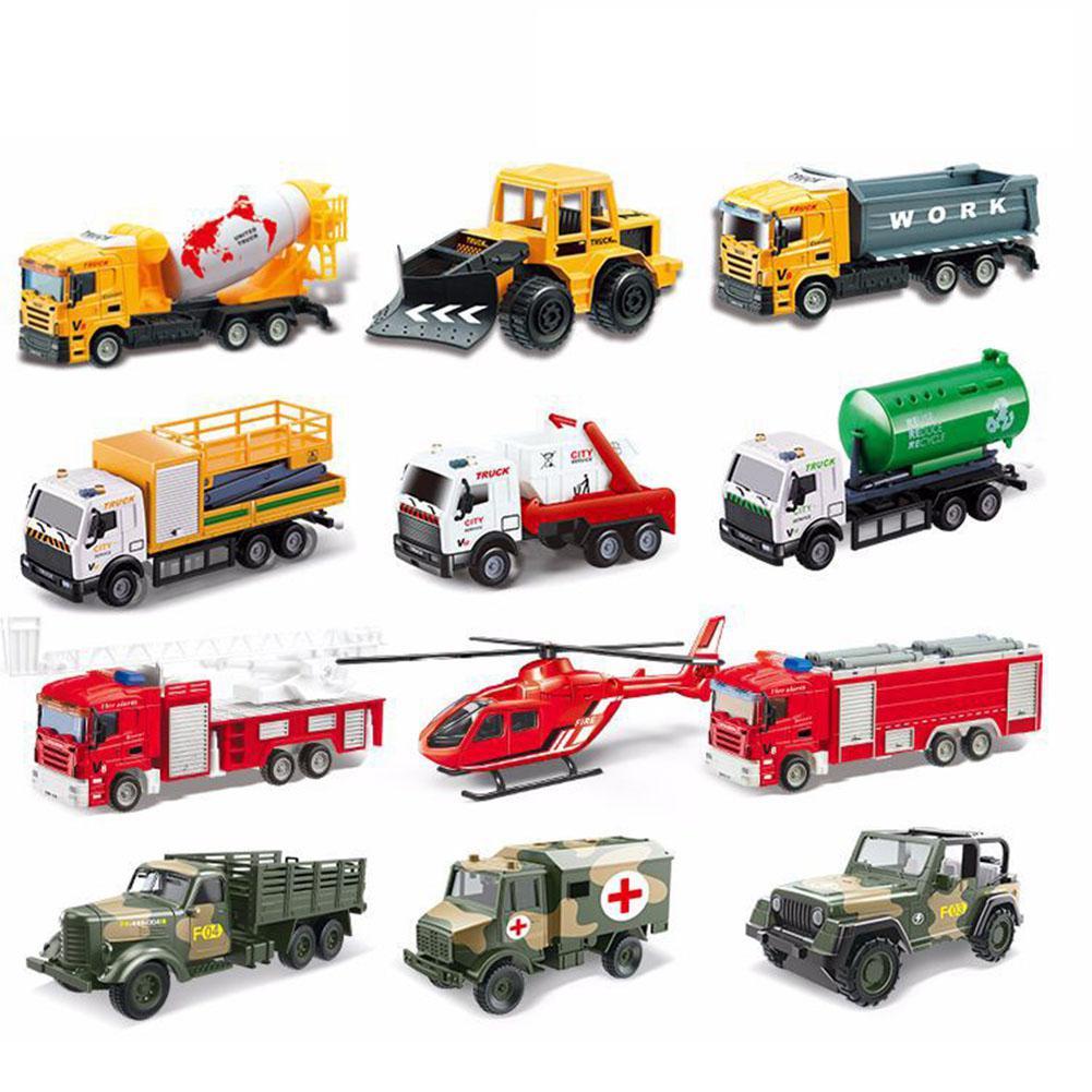 LeadingStar 3pcs/Set Children Mini Pull Back Alloy Car Models High Simulation Toys Kids Gifts