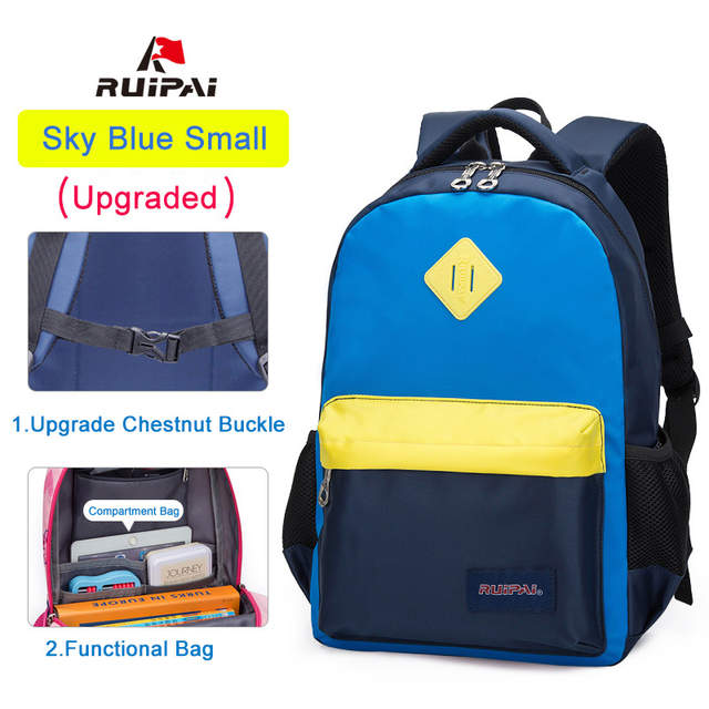 d8e67f59f49 placeholder RUIPAI Backpack Schoolbags Classic Children Backpacks for Girls  and Boys School Bag High Quality Mochila Kids