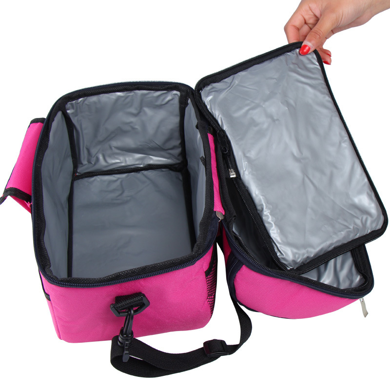 eTya Portable Waterproof Women Picnic Lunch bags Cooler Bags Box Kids Insulation Package Work School New Fashion Zipper Food Bag new top quality professional portable durable oboe hard case bag hand made nice work waterproof leather instrument box package
