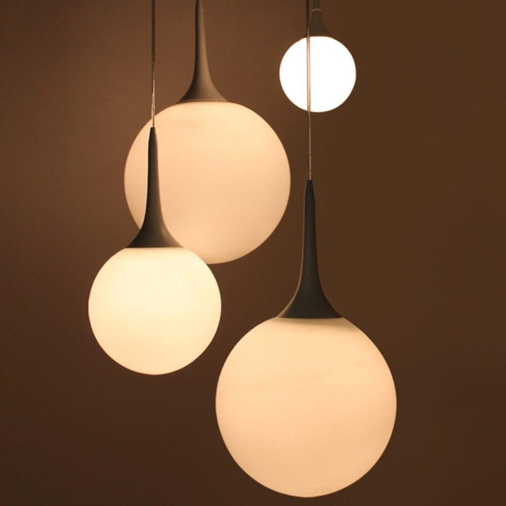 US $177.177 177% OFFFreies Verschiffen 17 Stück Moderne Weiße Milch Glaskugel  Lampe Anhänger Licht Wohnzimmer Hause Dekoration PLL 17modern whiteglass
