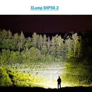 Image 5 - 8000 lumens סופר מואר USB xhp50.2 לפיד פנסים 26650 זום led פנס 18650 נטענת עמיד למים קמפינג lanterna