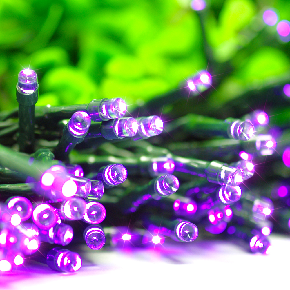 Aliexpress.com : Buy solar christmas lights party string lights 72ft 200led for solar powered Outdoor indoor string lights patio Gardens purple from ... - Aliexpress.com : Buy Solar Christmas Lights Party String Lights