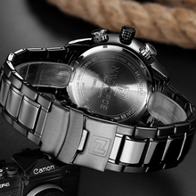Luxury Brand Men Military Sport Watches Men's Digital Quartz Clock Full Steel Waterproof Wrist Watch