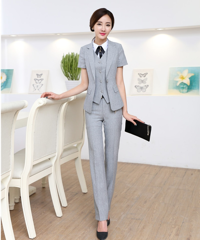 Compare Prices on Formal Grey Suit Women- Online Shopping/Buy Low ...